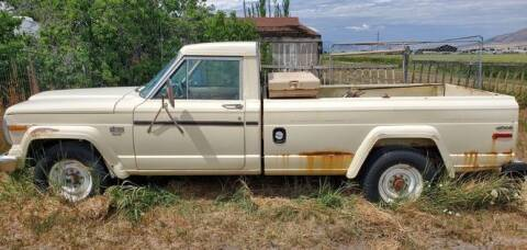 1987 Jeep J-20 Pickup for sale at Classic Car Deals in Cadillac MI