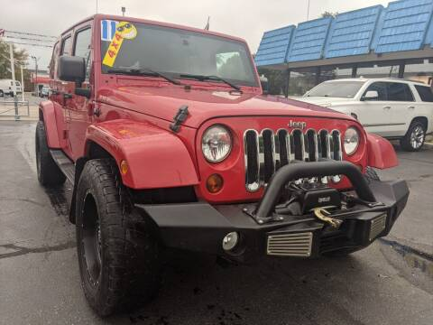 2011 Jeep Wrangler Unlimited for sale at GREAT DEALS ON WHEELS in Michigan City IN