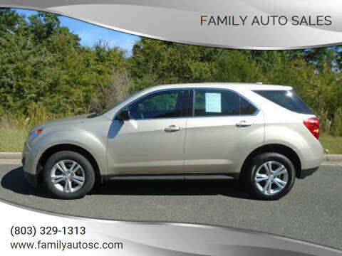 2015 Chevrolet Equinox for sale at Family Auto Sales in Rock Hill SC