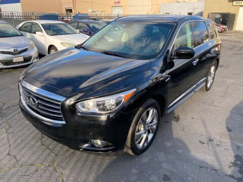 2014 Infiniti QX60 Hybrid for sale at 101 Auto Sales in Sacramento CA