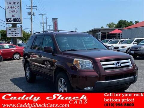 2008 Honda Pilot for sale at CADDY SHACK CARS in Edgewater MD