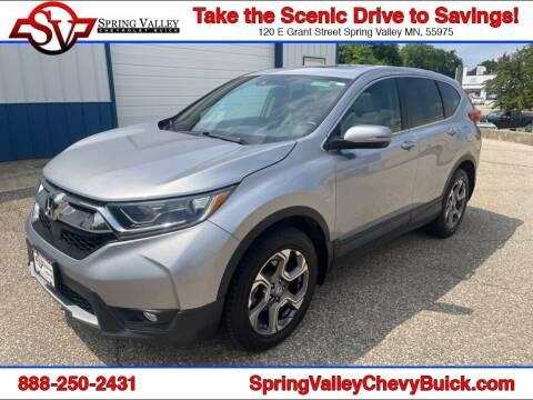 2017 Honda CR-V for sale at Spring Valley Chevrolet Buick in Spring Valley MN