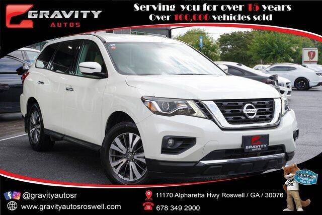 2017 Nissan Pathfinder for sale at Gravity Autos Roswell in Roswell GA