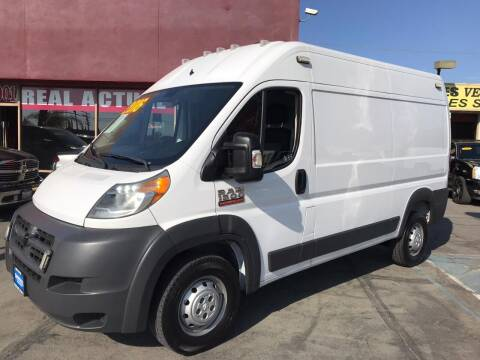 2016 RAM ProMaster Cargo for sale at Sanmiguel Motors in South Gate CA