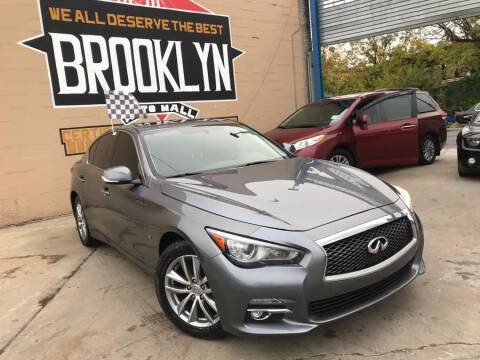 2015 Infiniti Q50 for sale at Excellence Auto Trade 1 Corp in Brooklyn NY