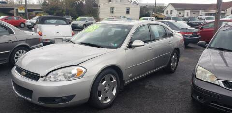 2006 Chevrolet Impala for sale at Credit Connection Auto Sales Inc. CARLISLE in Carlisle PA