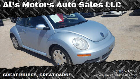 2010 Volkswagen New Beetle for sale at Al's Motors Auto Sales LLC in San Antonio TX