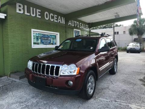 2007 Jeep Grand Cherokee for sale at Blue Ocean Auto Sales LLC in Tampa FL