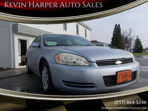 2006 Chevrolet Impala for sale at Kevin Harper Auto Sales in Mount Zion IL