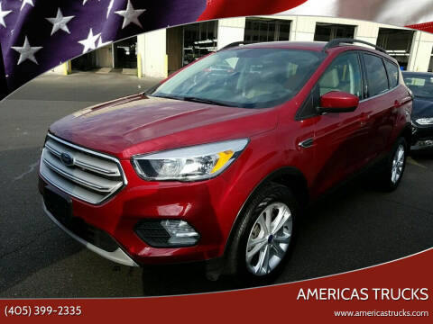 2018 Ford Escape for sale at Americas Trucks in Jones OK