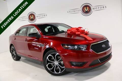 2018 Ford Taurus for sale at Unlimited Motors in Fishers IN