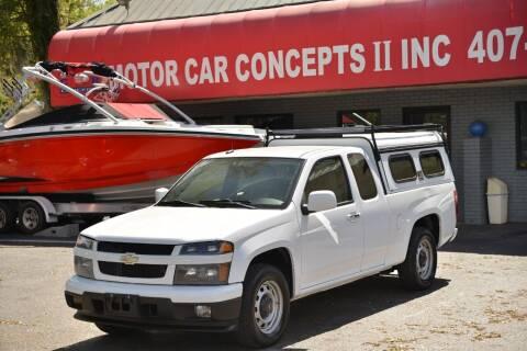 2011 Chevrolet Colorado for sale at Motor Car Concepts II - Apopka Location in Apopka FL