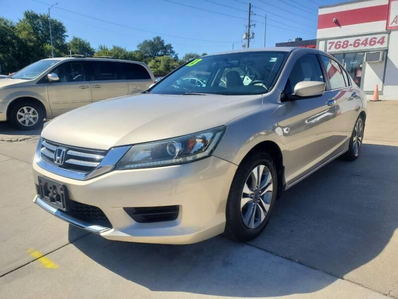 2013 Honda Accord for sale at Quallys Auto Sales in Olathe KS