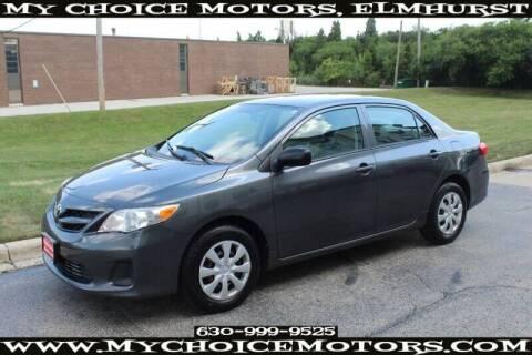 2011 Toyota Corolla for sale at My Choice Motors Elmhurst in Elmhurst IL