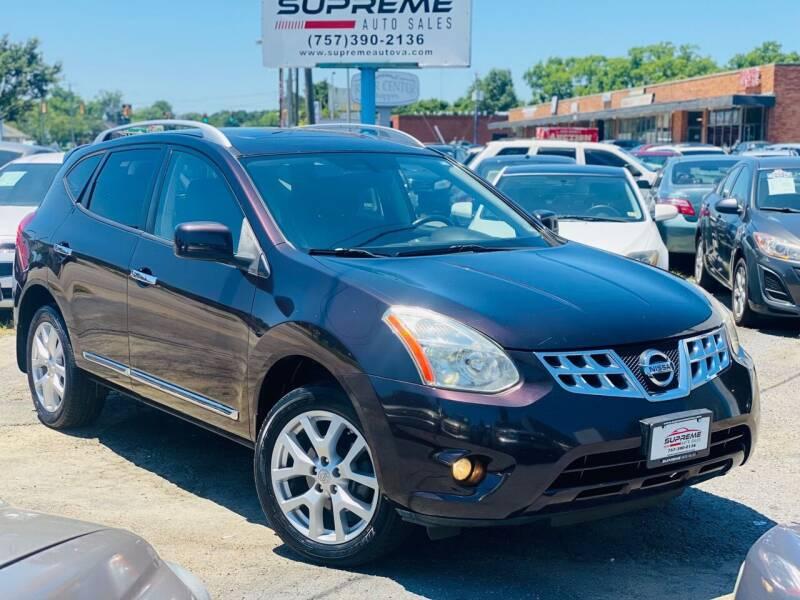 2011 Nissan Rogue for sale at Supreme Auto Sales in Chesapeake VA