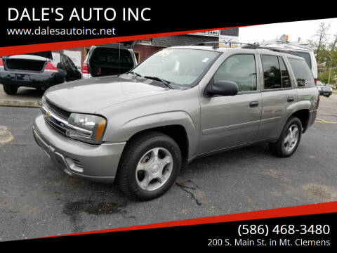 2006 Chevrolet TrailBlazer for sale at DALE'S AUTO INC in Mt Clemens MI