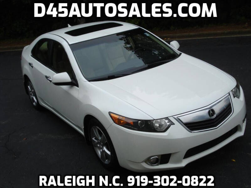 2012 Acura TSX for sale at D45 Auto Brokers in Raleigh NC