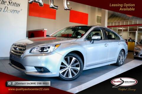 2016 Subaru Legacy for sale at Quality Auto Center in Springfield NJ