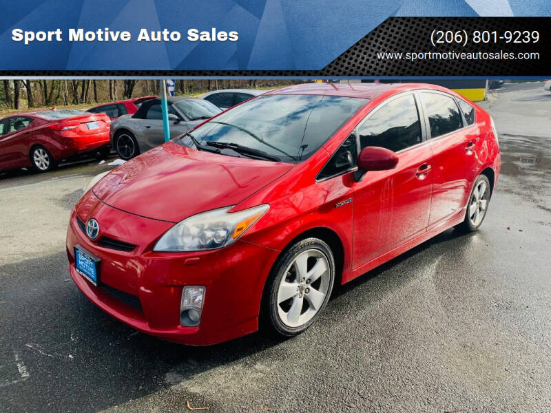 2010 Toyota Prius for sale at Sport Motive Auto Sales in Seattle WA