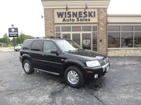 2007 Mercury Mariner for sale at Wisneski Auto Sales, Inc. in Green Bay WI