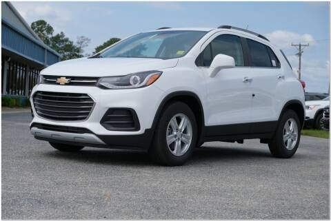 2020 Chevrolet Trax for sale at STRICKLAND AUTO GROUP INC in Ahoskie NC