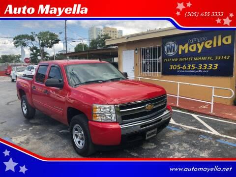 2011 Chevrolet Silverado 1500 for sale at Auto Mayella in Miami FL