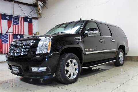 2007 Cadillac Escalade ESV for sale at ROADSTERS AUTO in Houston TX