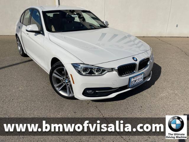 2018 BMW 3 Series for sale at BMW OF VISALIA in Visalia CA