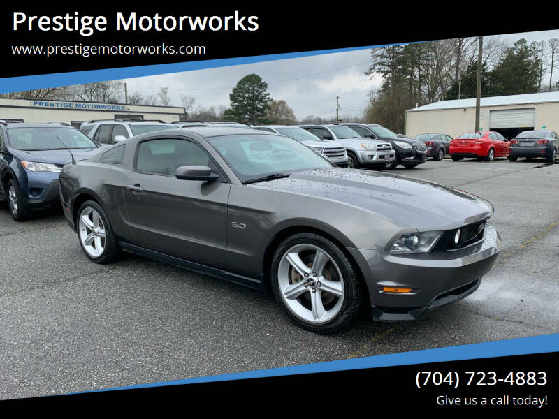 2011 Ford Mustang for sale at Prestige Motorworks in Concord NC