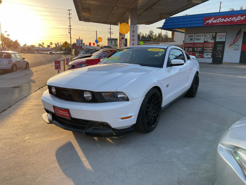 2010 Ford Mustang for sale at Top Quality Auto Sales in Redlands CA