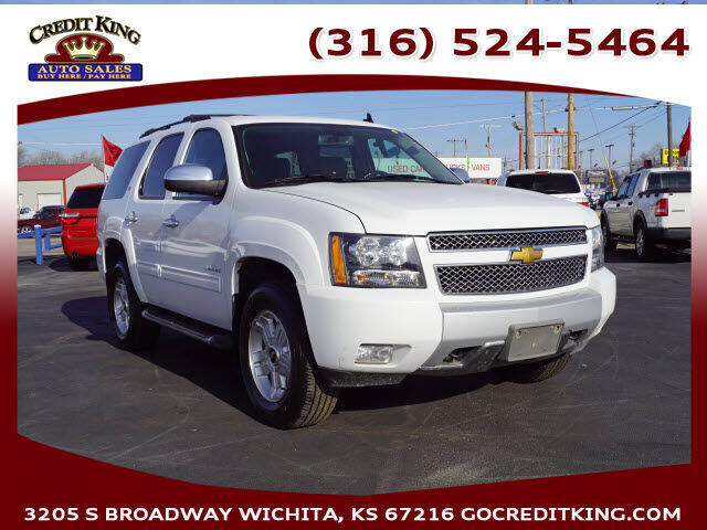 2013 Chevrolet Tahoe for sale at Credit King Auto Sales in Wichita KS