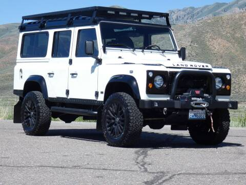 1991 Land Rover Defender 110 / ARK700 for sale at Sun Valley Auto Sales in Hailey ID