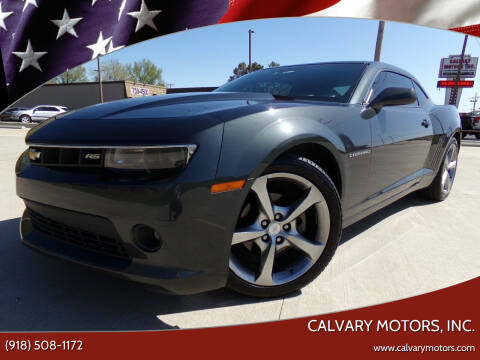 2014 Chevrolet Camaro for sale at Calvary Motors, Inc. in Bixby OK