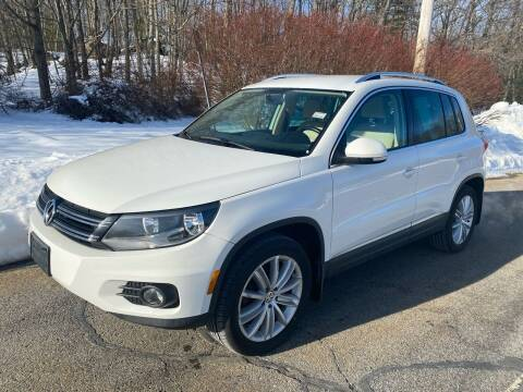 2013 Volkswagen Tiguan for sale at Padula Auto Sales in Braintree MA