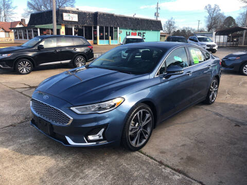 2019 Ford Fusion for sale at BRAMLETT MOTORS in Hope AR