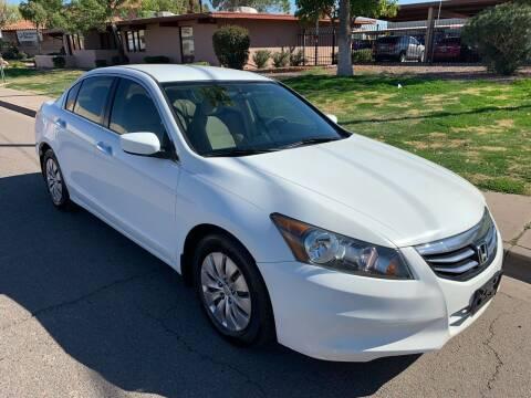 2012 Honda Accord for sale at Premier Motors AZ in Phoenix AZ