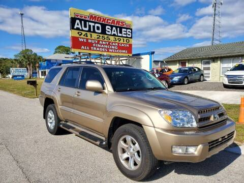 2003 Toyota 4Runner for sale at Mox Motors in Port Charlotte FL