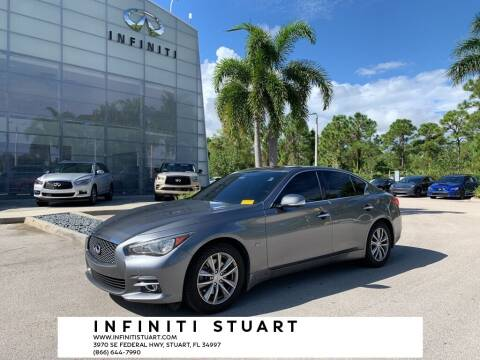 2016 Infiniti Q50 for sale at Infiniti Stuart in Stuart FL
