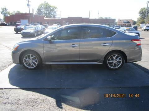 2015 Nissan Sentra for sale at Taylorsville Auto Mart in Taylorsville NC