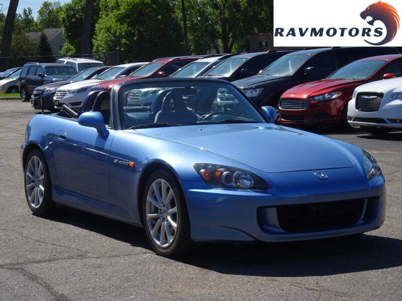 2005 Honda S2000 for sale at RAVMOTORS in Burnsville MN