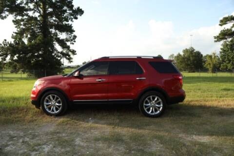 2012 Ford Explorer for sale at WOODLAKE MOTORS in Conroe TX