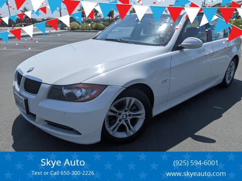 2008 BMW 3 Series for sale at Skye Auto in Fremont CA