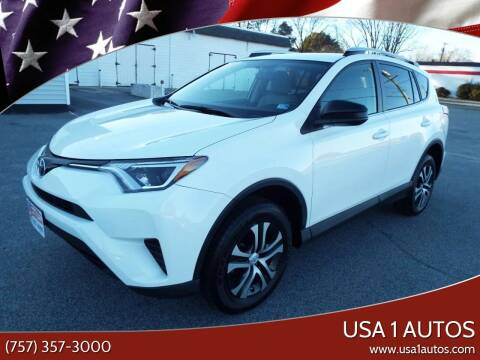 2016 Toyota RAV4 for sale at USA 1 Autos in Smithfield VA