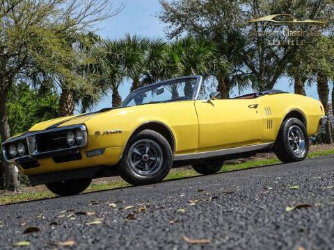 1968 Pontiac Firebird for sale at SURVIVOR CLASSIC CAR SERVICES in Palmetto FL