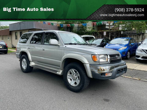 2001 Toyota 4Runner for sale at Big Time Auto Sales in Vauxhall NJ