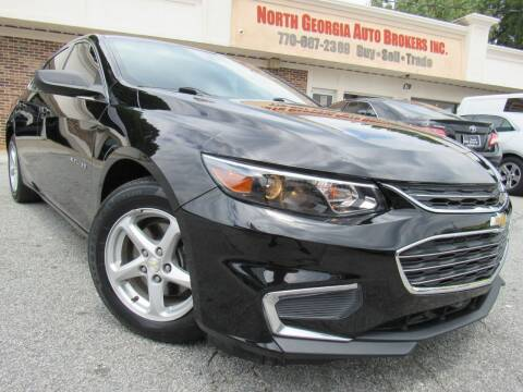 2018 Chevrolet Malibu for sale at North Georgia Auto Brokers in Snellville GA