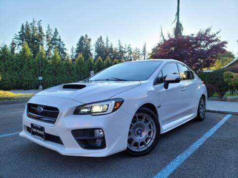 2016 Subaru WRX for sale at Silver Star Auto in Lynnwood WA