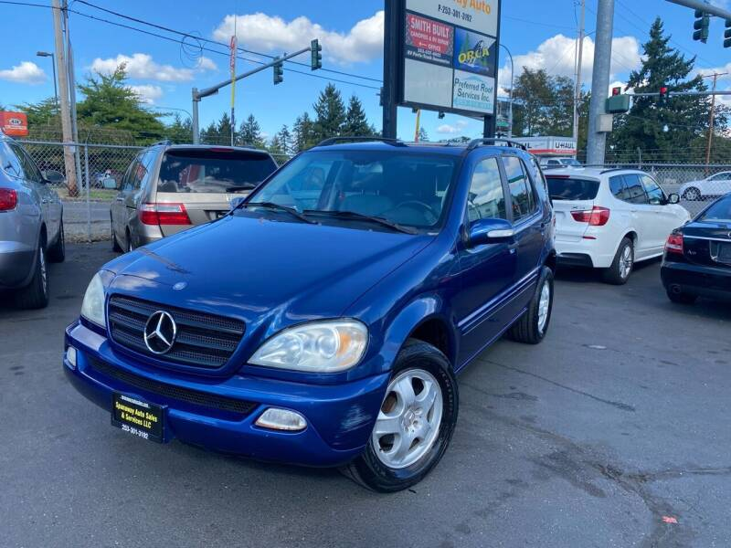 2002 Mercedes-Benz M-Class for sale at Tacoma Autos LLC in Tacoma WA