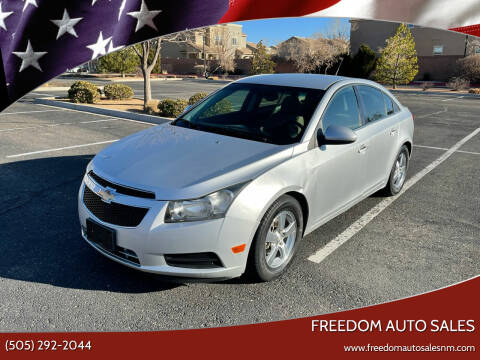 2014 Chevrolet Cruze for sale at Freedom Auto Sales in Albuquerque NM