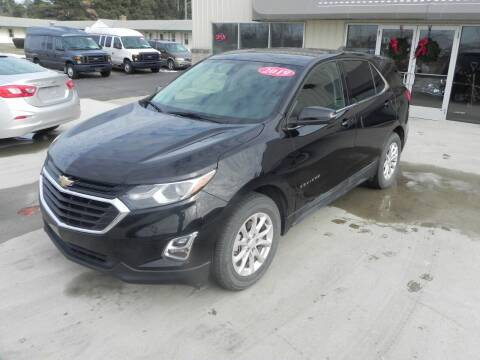 2019 Chevrolet Equinox for sale at Thompson Car Company in Bad Axe MI